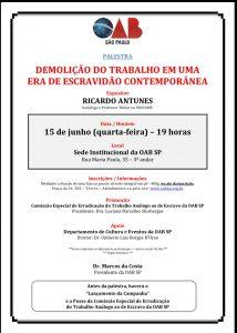 convite _OAB